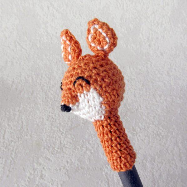 gehäkelter Fuchs