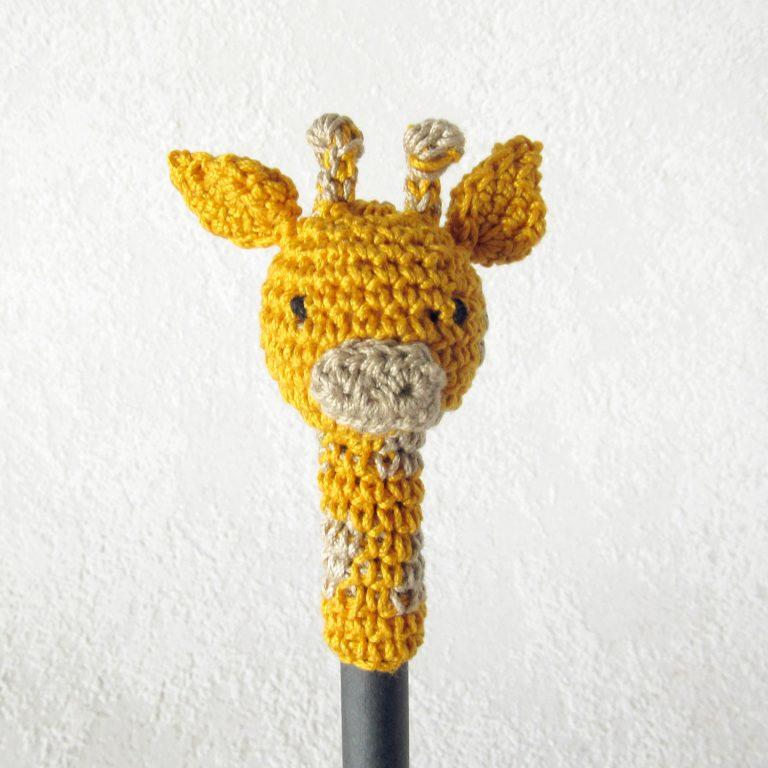 gehäkelte Giraffe