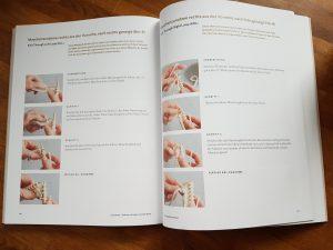 Ausschnitt Buch Cocoknits - Stricktechnik