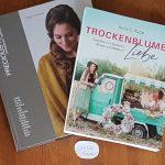 Strickbuch Precious Knits und Buch Trockenblumen Liebe