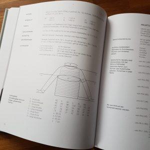 Strickbuch Schema