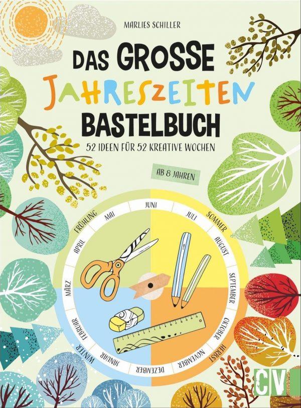 Das Jahreszeiten Bastelbuch Cover